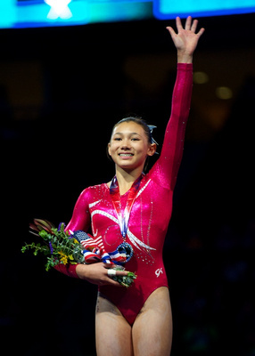Kyla Ross - 2nd place in the all-around