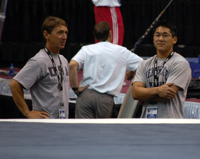 Mark Williams and Kevin Tan