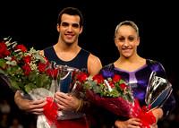 Danell Leyva and Jordyn Wieber
