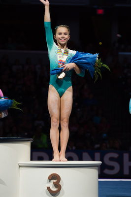 Ragan Smith - 3rd place in the all-around