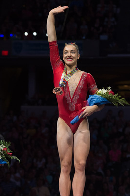 Maggie Nichols - 2nd place in the all-around