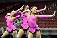 Emilia Segel, Josephina Kievsky, Londrea Garrett - 13-19 women's group