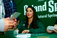 Aly Raisman signing autographs