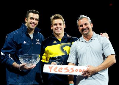 Danell Leyva, Sam Mikulak and Yin Alvarez won special awards