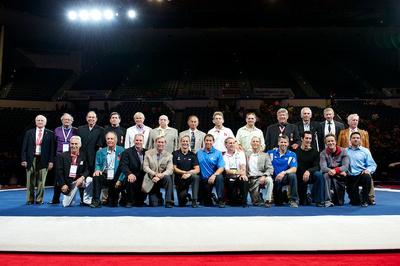 Men's members of the USA Gymnastics Hall of Fame
