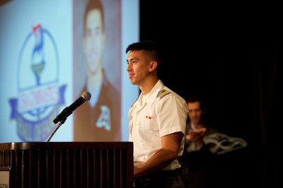 Andrew Avelino - Spirit of the Flame Award receipient