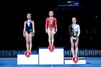 Junior Women's Vault medalists