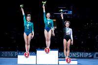 Vault medalists