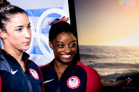 Actor Zac Efron came to Rio to surprise Simone Biles and the rest of the Final Five.