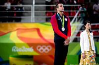 Danell Leyva - high bar silver medalist
