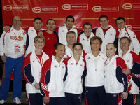 The USA delegation is joined by Maxim  Devytovskiy and his coach