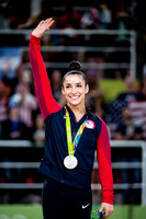 Aly Raisman, 2016 Olympic all-around silver medalist