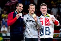 High bar medalists