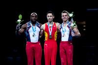 Senior All-Around medalists