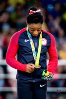 Simone Biles - 2016 Olympic vault gold medalist