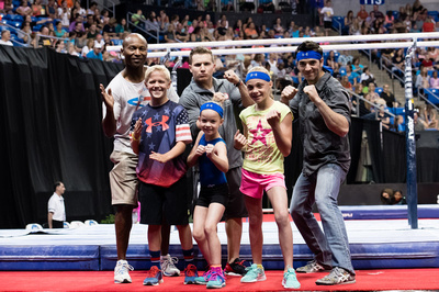 USA Gymnastics Ninja Challenge winners