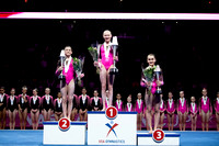 Junior all-around medalists