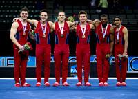 USA, men's team champions
