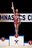 Age 13-19 Mixed Pair Champions - Anna Blough, Nathan Burns