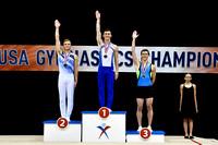 Men's Trampoline Medalists