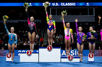 Junior All-Around Podium