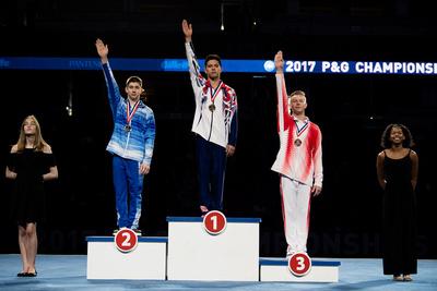 15-16 Pommel Horse Medalists