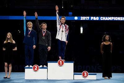 15-16 Still Rings Medalists
