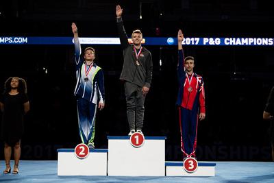 17-18 Still Rings Medalists
