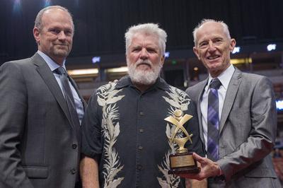 Paul Tickenoff - service award