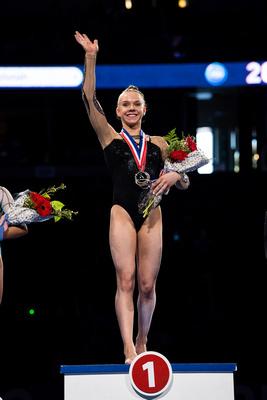 Maile O'Keefe - Junior All-Around Champion