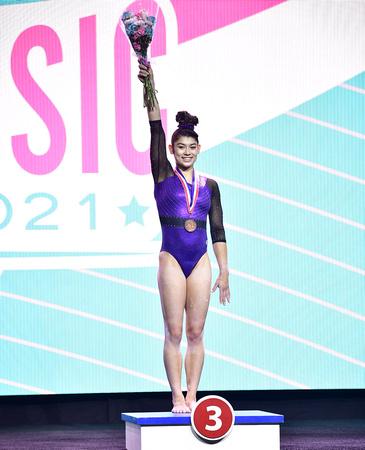 USA Gymnastics: May 22 - GK U.S. Classic Senior Session 2 &emdash; Kayla DiCello - Senior All-Around Bronze Medalist