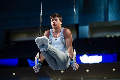 Erich Upton (Iron Cross Gym)