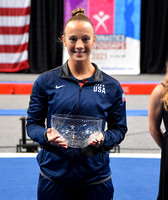 Nicole Ahsinger - Trampoline Athlete of the Year