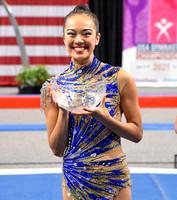 Laura Zeng - Rhythmic Gymnast of the Year