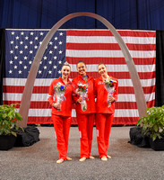 Rhythmic Olympians - Lennox Hopkins-Wilkins (replacement athlete), Laura Zeng, Evita Griskenas