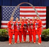 Rhythmic Group Olympians