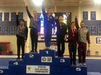 High Bars medalists