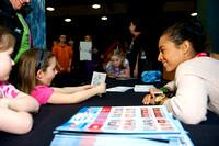 Tasha Schwikert signs autographs