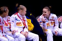 Members of the Russian team