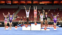 Age 10-11 all-around medalists
