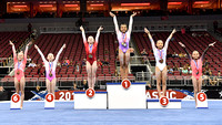Age 12-13 all-around medalists