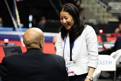 USA Gymnastics President Li Li Leung