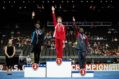 15-16 Floor Exercise Medalists