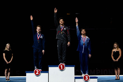 17-18 Floor Exercise Medalists