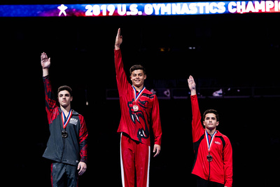 15-16 Still Rings Medalists