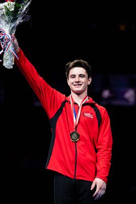 Taylor Burkhart - 15-16 all-around gold medalist