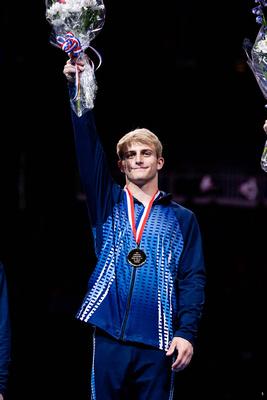 Colt Walker, 17-18 all-around gold medalist