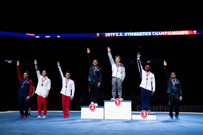 Still Rings Medalists