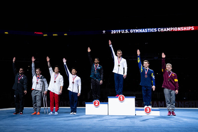 High Bar Medalists