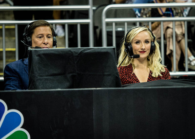 Tim Daggett and Nastia Liukin
